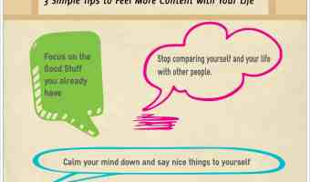 3 simple tips to feel more content with your life