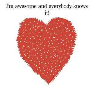 I'm awesome and everybody knows it. Say this affirmation whilst you're out and about and you'll soon start feeling fantastic. #affirmations