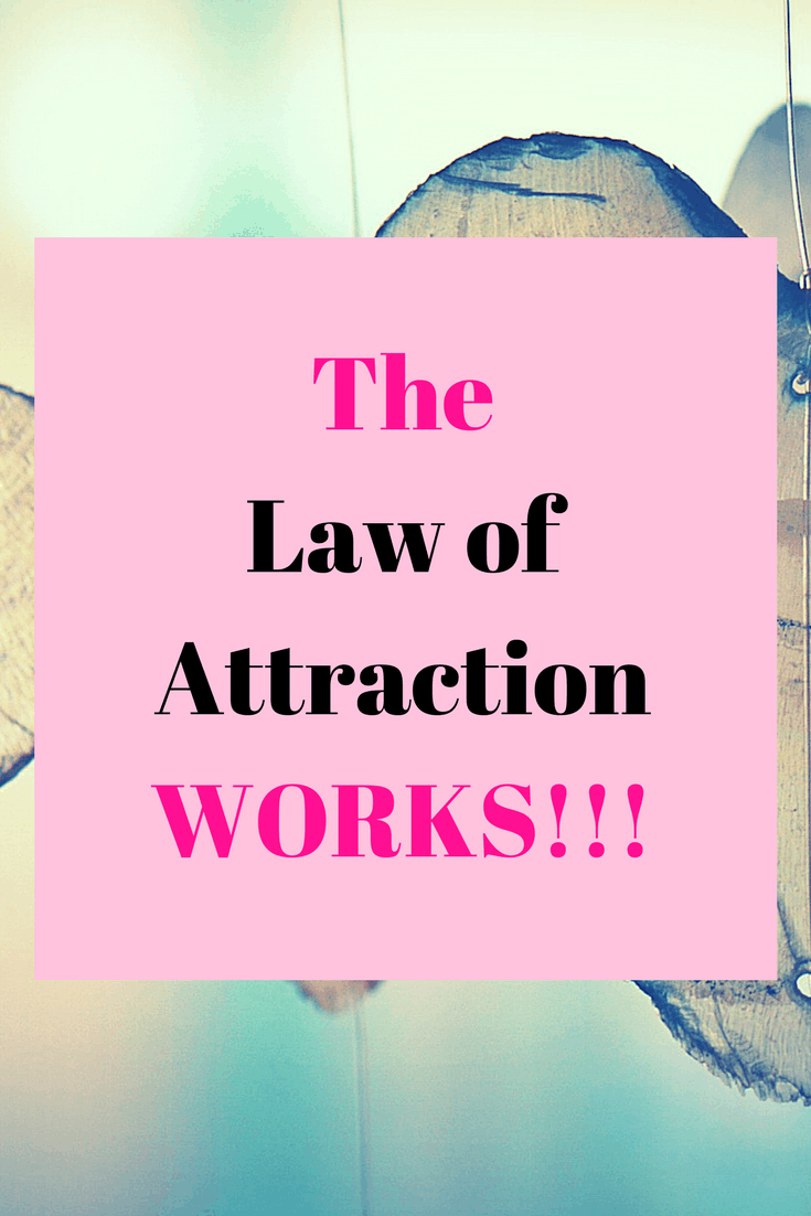 The law of attraction WORKS!!! | Law of attraction affirmations