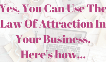 Can I use the law of attraction for business success?