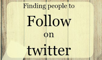 Finding people to follow on twitter (using the people who follow you)