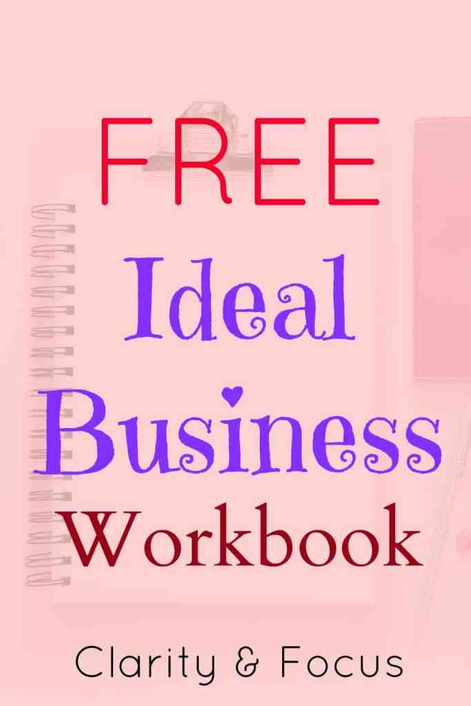 Free Ideal Business Workbook. In this special free business workbook you'll gain real clarity and focus in your business, these are two essentials for effectively using the law of attraction in your business.