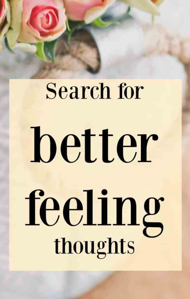 Search for a better feeling thought. Click through to read my full blog post Law of attraction business tip, positive thinking for business success.