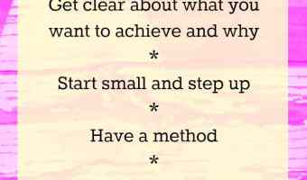 Tips for effective goal setting