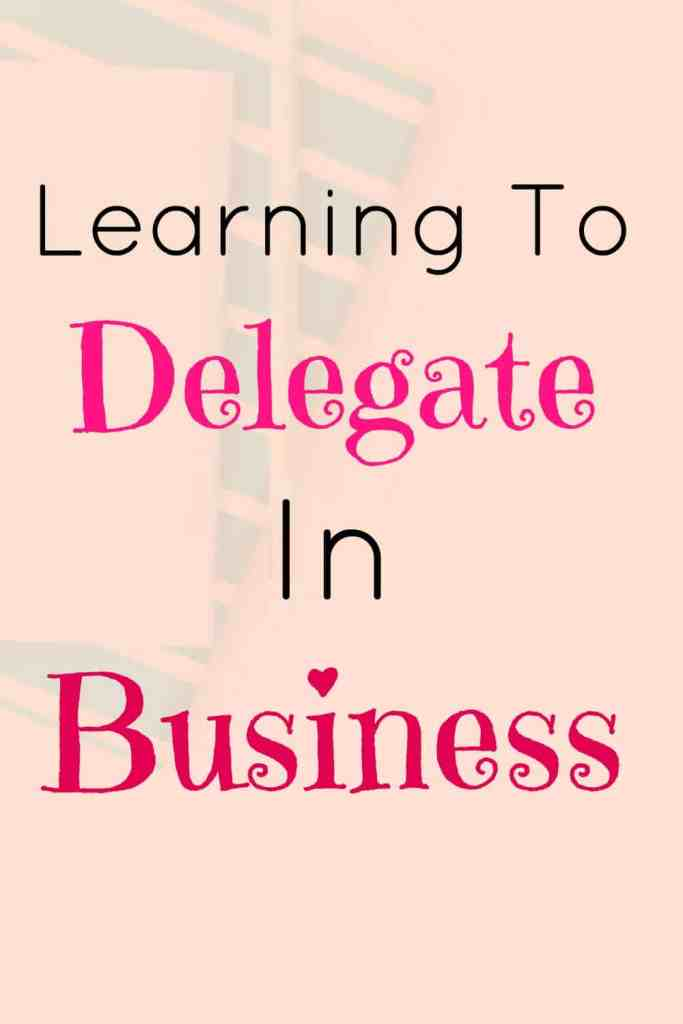 Deep Breaths: Learning To Delegate In Business.