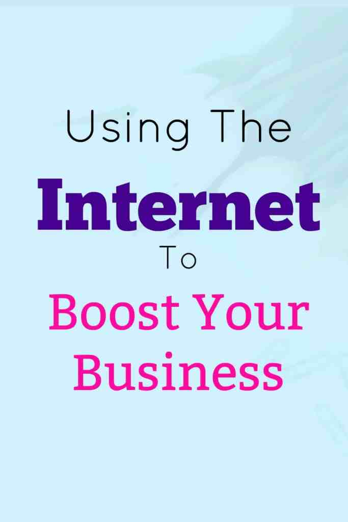 Using the internet to boost your business.  Today, we're talking SEO, social media and websites.