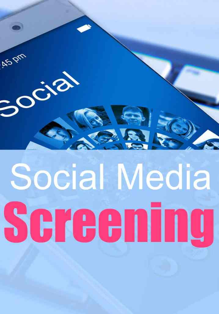 The Role of Social Media Screening as a Modern Resource