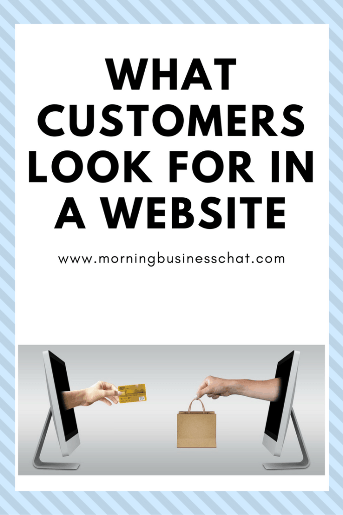What Customers Look For In A Website