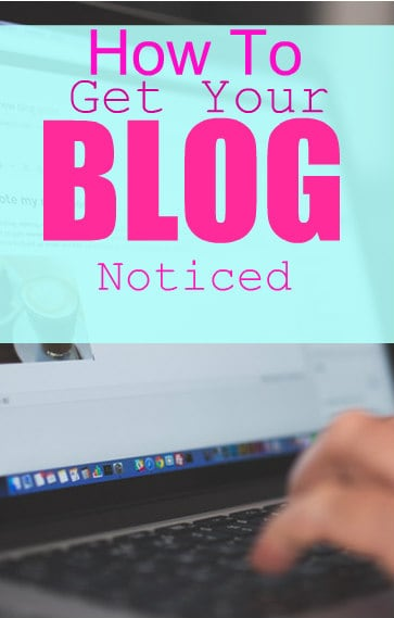 Check out these tips to get your blog noticed.