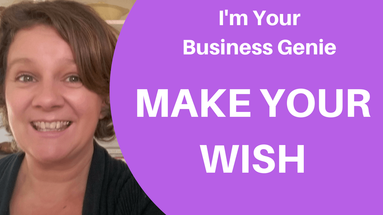 What if I told you that I'm a business genie and I can grant you one wish for your business.