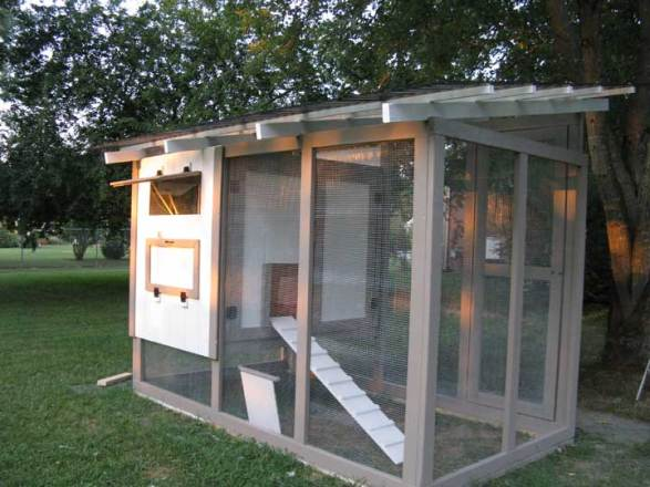 Backyard Chicken Coop Designs a beautiful backyard chicken coop on madisons south side The Feather Factory Chicken Coop