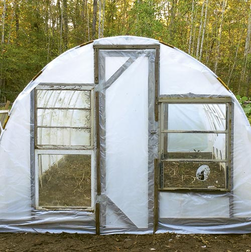 My Hoop Greenhouse & 84 DIY Greenhouse Plans You Can Build This Weekend (Free)