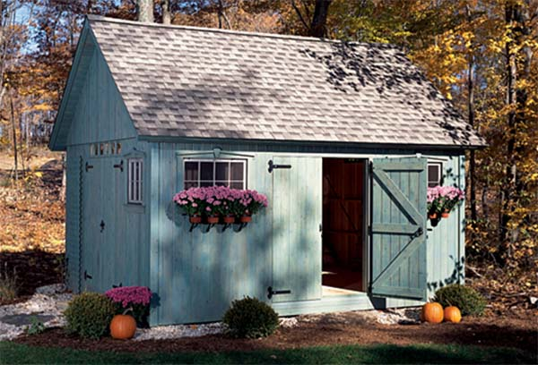 Wonderful Colonial Shed
