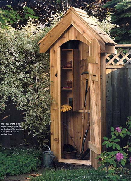 Awesome Mini Garden Shed