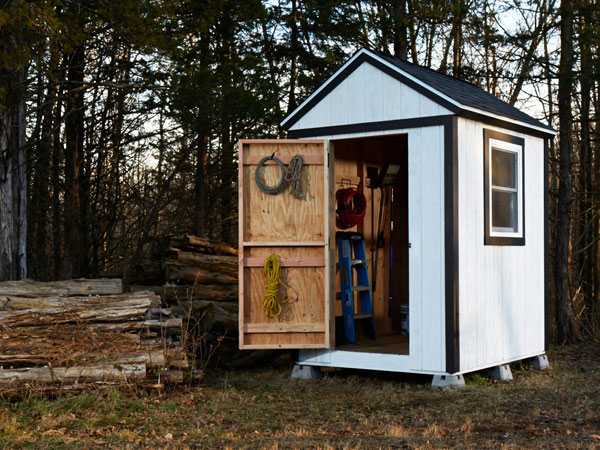 Shed from scratch