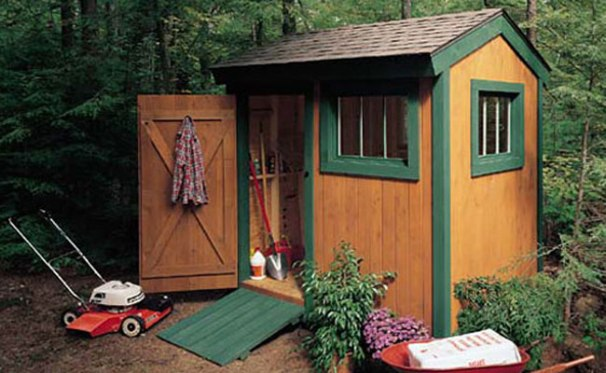 108 diy shed plans with detailed step by step tutorials free for Large backyard sheds