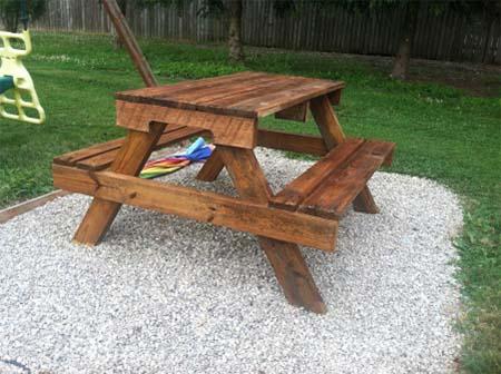 Pallet Picnic Table Part 64