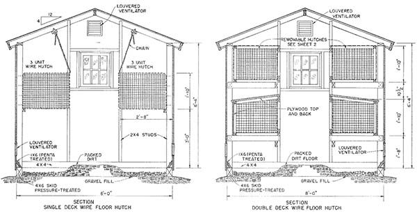 rabbit house plans