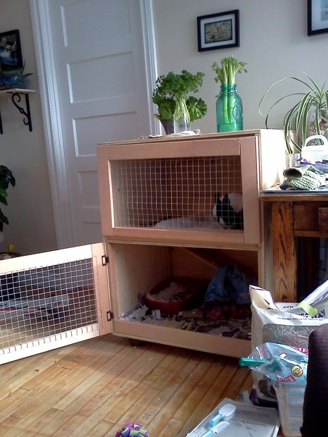 50 diy rabbit hutch plans to get you started keeping rabbits for Design indoor rabbit cages
