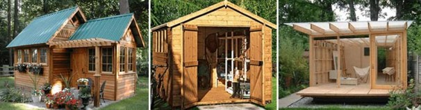 DIY Shed Plans With Detailed StepbyStep Tutorials Free - Backyard shed ideas