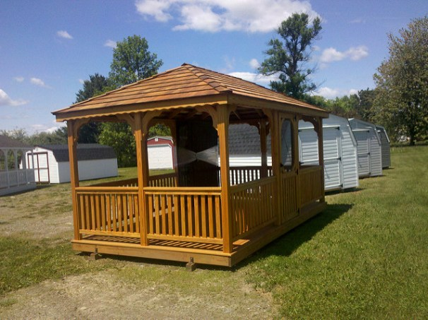 This Gazebo Was Created By A Man That Wanted To Build His Wife Her Dream But Knew He Couldnt Afford The Price Of Prefab One