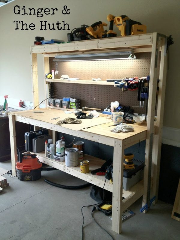 work bench ideas