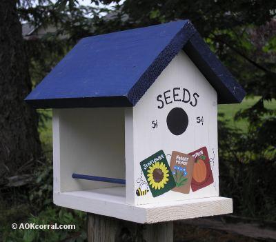 natural bird house