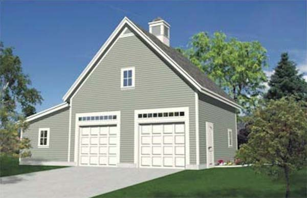 Large Detached Garage. 18 Free DIY Garage Plans with Detailed Drawings and Instructions