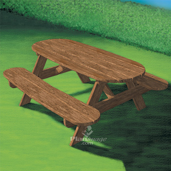 Picnic Outdoor Table Kid Ch