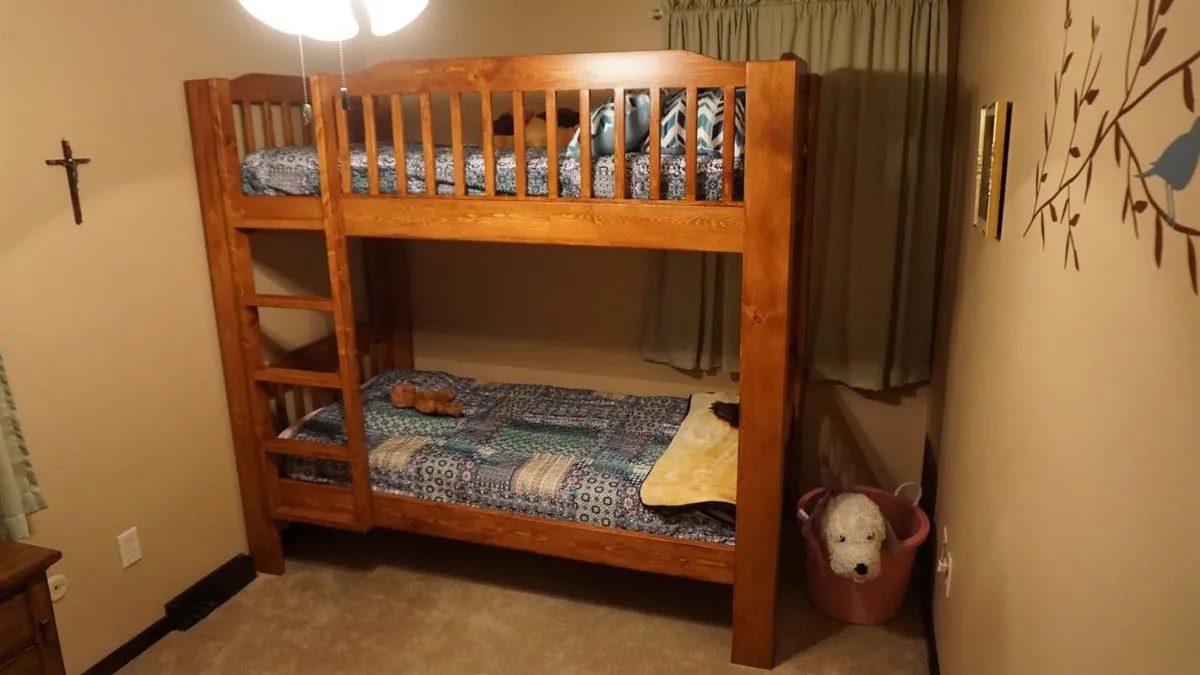 solid wood bunk beds - Bunk Beds For Kids Plans