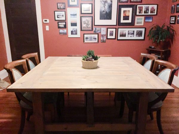 40 DIY Farmhouse Table PlansIdeas for Your Dining Room Free