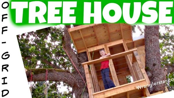 This Tree House Would Be A Wonderful Place For A Child To Play. Especially  If You Have A Child That Is Living Off The Grid.