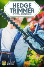 8 Best Hedge Trimmer Reviews (Corded/Cordless Electric and Gas)