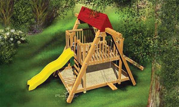 Simple Playground Plans