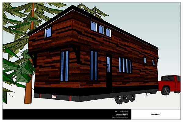 Diy tiny house on a trailer