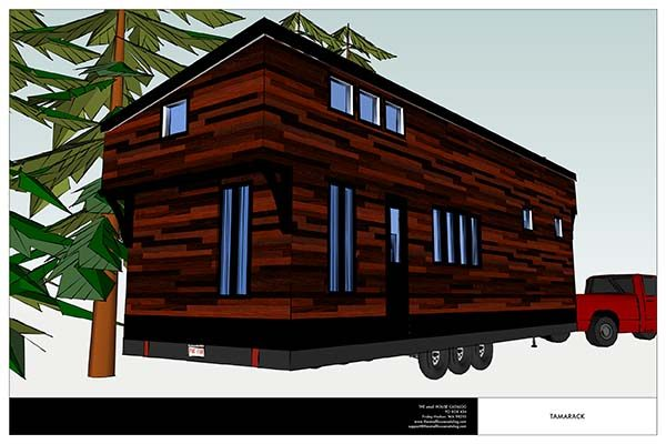 the tamarack tiny house - Tiny House Plans
