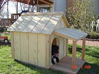 If you like the basic A-frame design of a dog house simply because of the  appearance or ease of building it but also want a front porch on the front,  ...