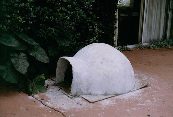 ferro-cement-dog-house