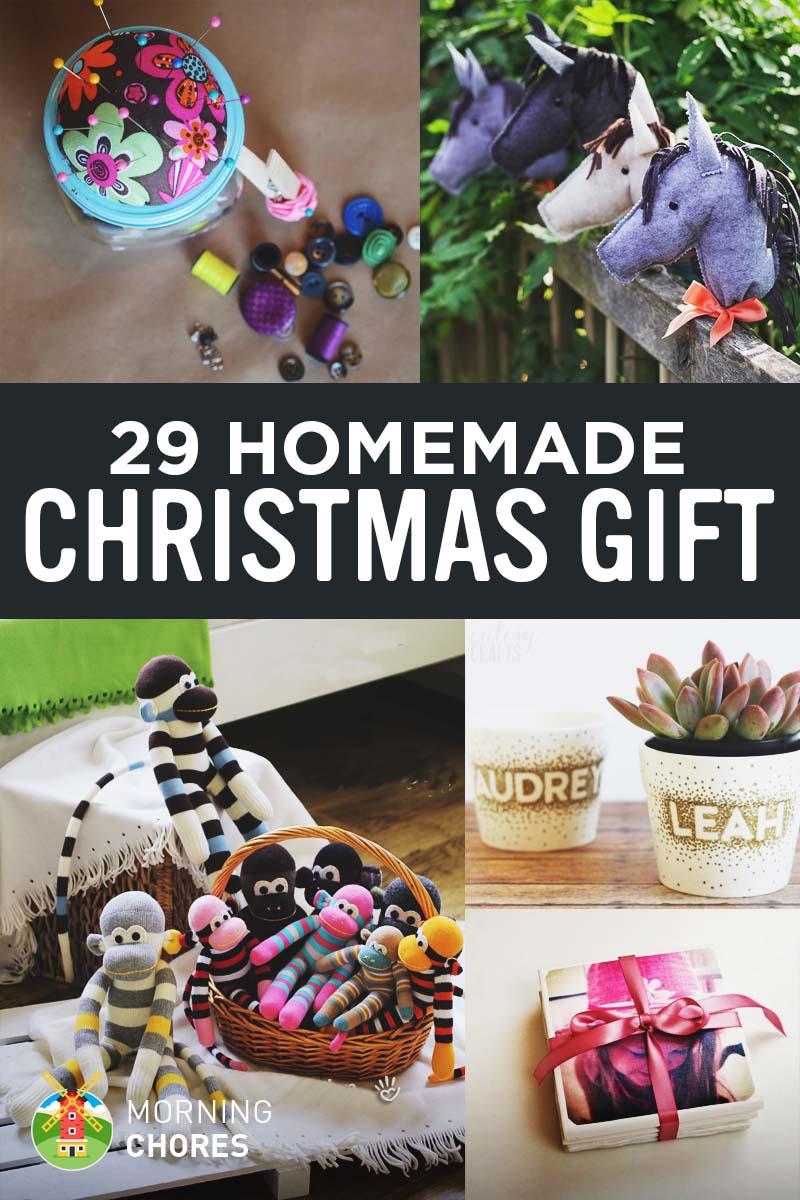 29 Joyful DIY Homemade Christmas Gift Ideas for Kids & Adults