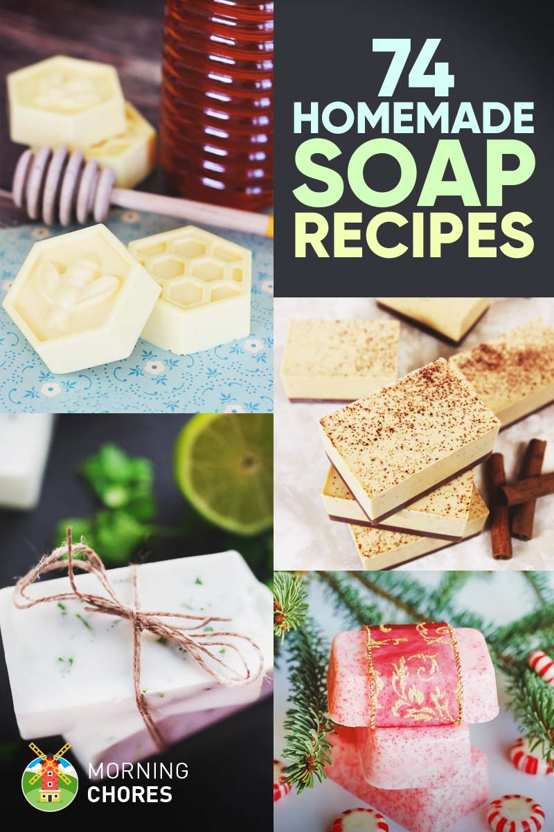 74 Delightful Homemade Soap Recipes That Are Natural & Healthier