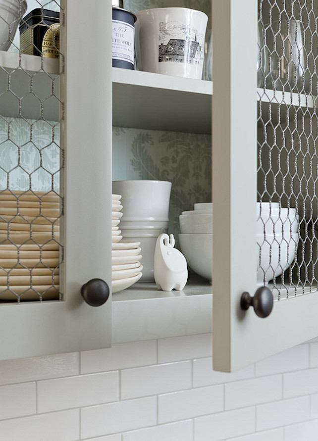 The Chicken Wire Cabinet Doors
