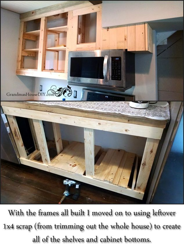 How One Person Built All of Their Kitchen Cabinets - 21 DIY Kitchen Cabinets Ideas & Plans That Are Easy & Cheap To Build