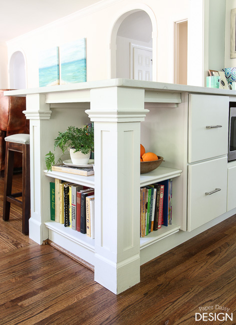 51 diy bookshelf plans ideas to organize your precious books for Building kitchen cabinets book