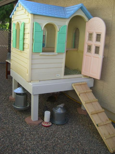 I Love This Idea For Creating An Upcycled Duck House If You Have An Old Doll House Around Your Home Or If You Can Find One Cheap At A Yard Sale