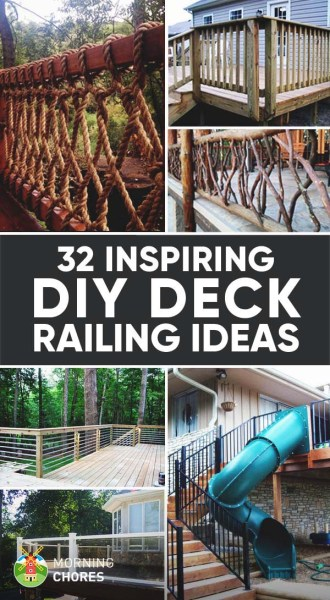 but wed love to hear your thoughts which one is your favorite do you have a diy deck railing design that isnt mentioned here - Deck Railing Design Ideas