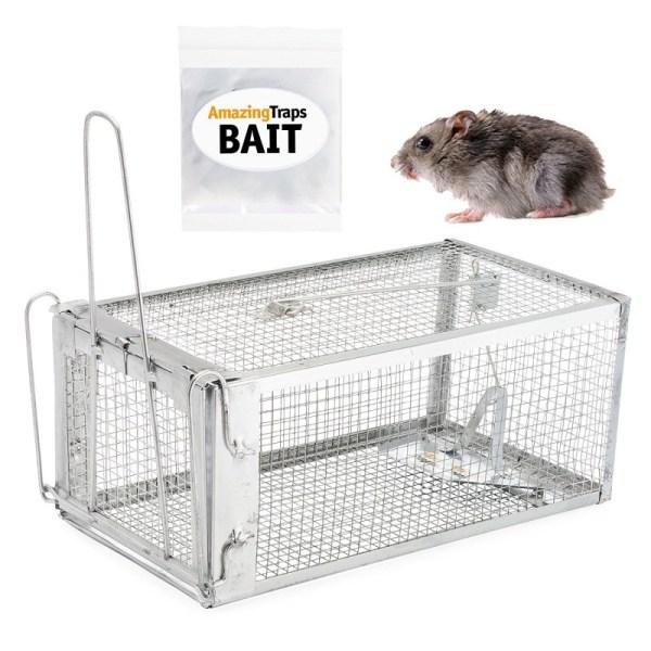 Amazing Rat Trap Includes Starter Bait