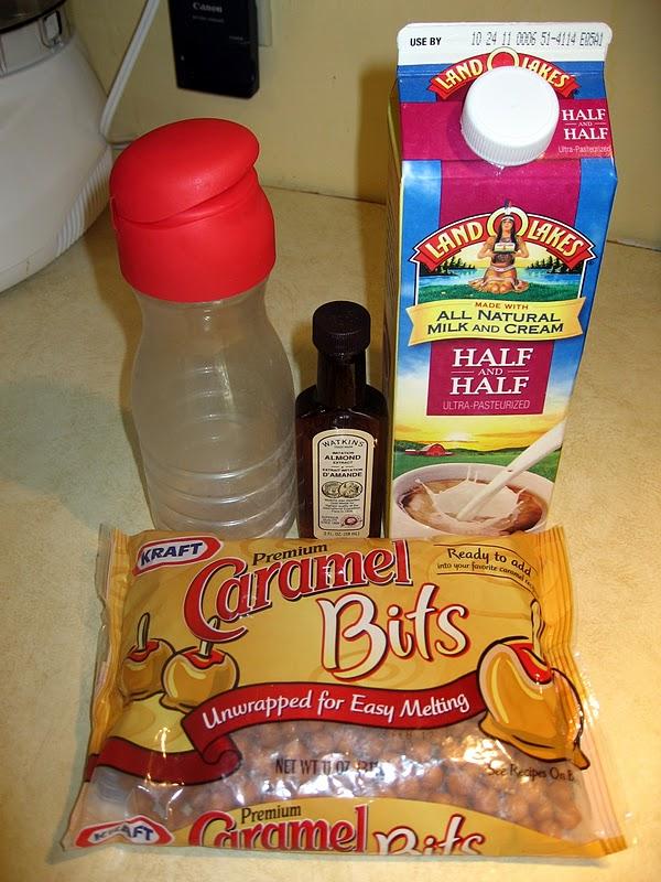 caramel coffee creamer