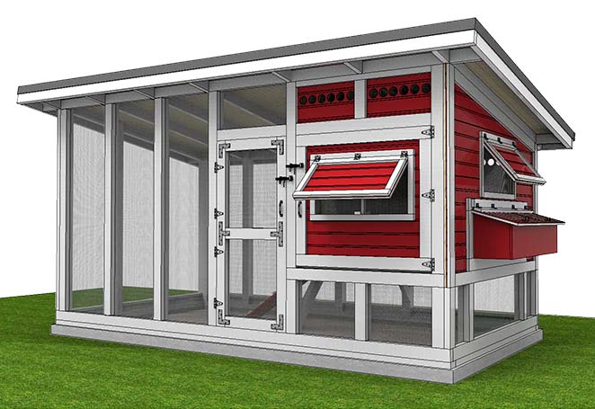 Chicken House Plans 61 diy chicken coop plans that are easy to build (100% free)