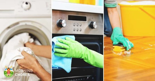 4 Tips to Create the Perfect House Cleaning Schedule (with Examples)