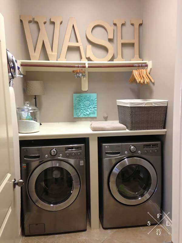 It Is Great Because Whether Your Laundry Room Is In A Closet Or Actually Has Its Own Room There Is A Design On